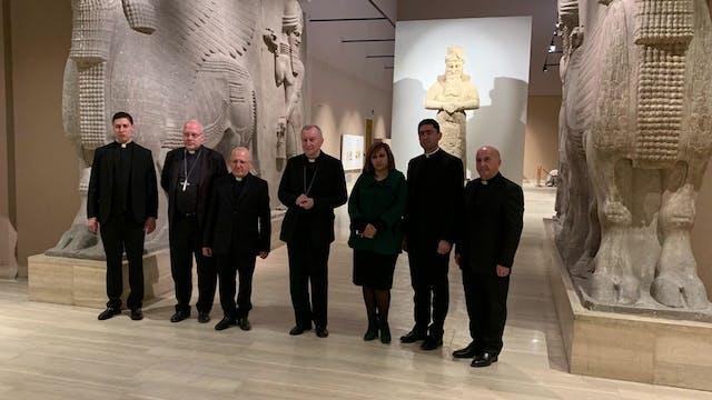 Cardinal Parolin spent Christmas in I...