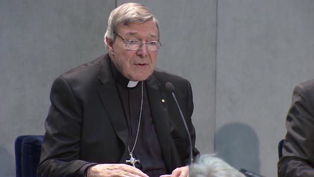 Card. Pell found guilty of five count...