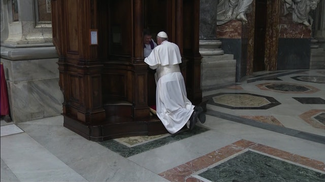 Pope Francis to hear pilgrims' confessions in St. Peter's Basilica on Friday
