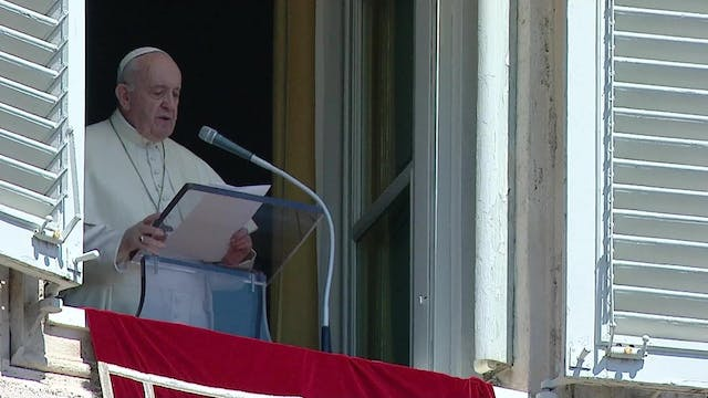 Pope Francis at Angelus: The Lord wil...