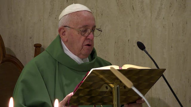 Pope at Santa Marta: if a Christian l...