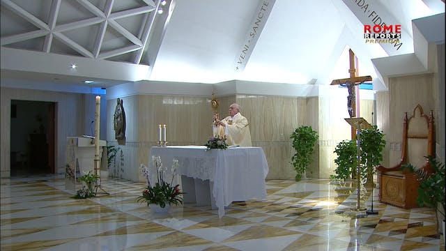 Pope: To be Christian is not being 'e...