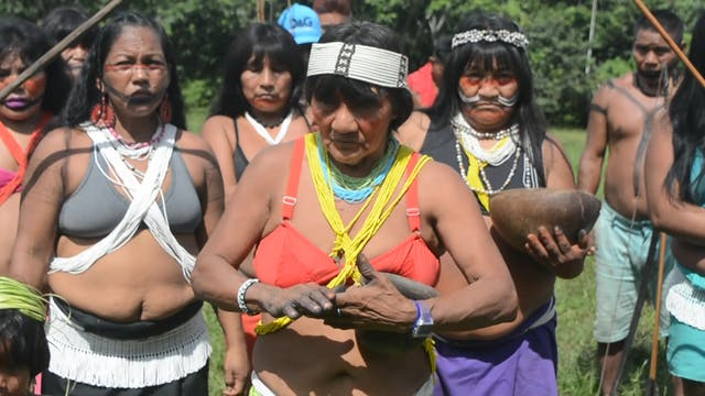 "Indigenous people from Brazil: ""We do..."
