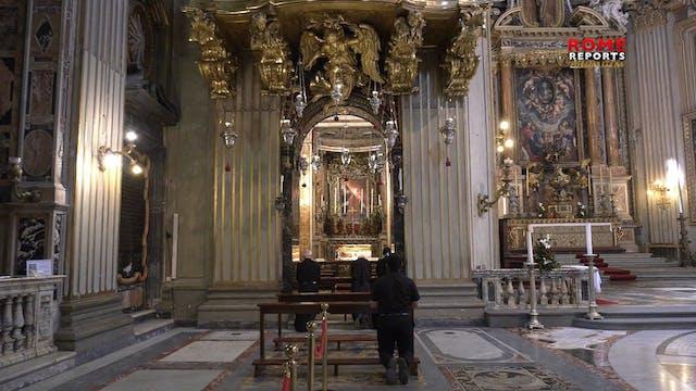 Historic rooms of St. Philip Neri rem...