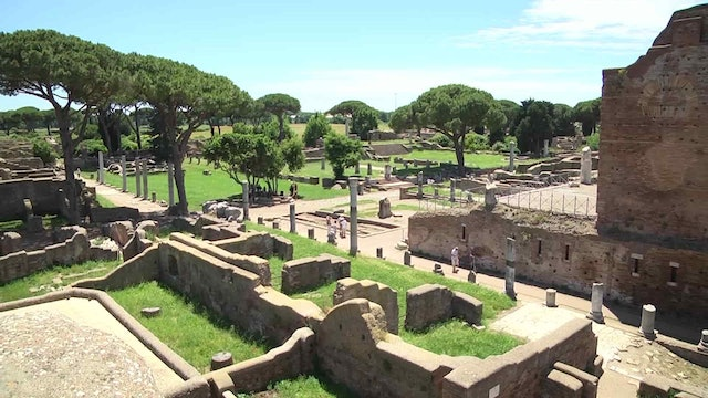 'Ostia Antica': secrets behind once-great Roman Empire port
