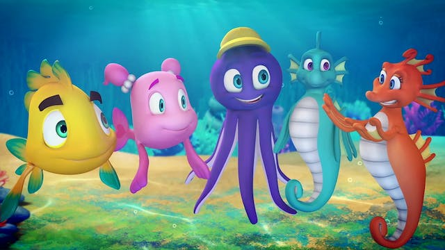 Cartoon about fish from Sea of Galile...
