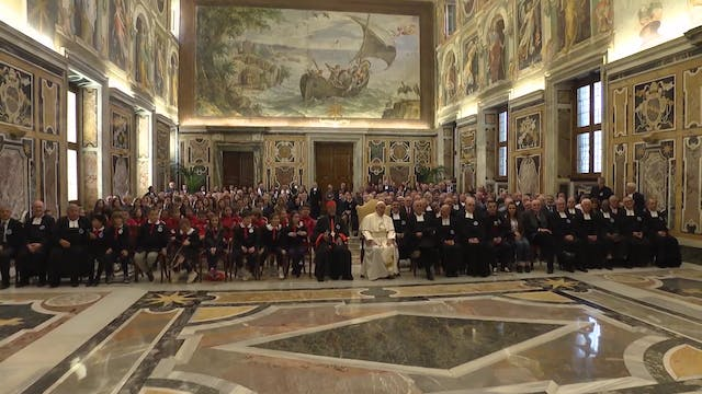 Pope recalls 300-year-old saint's edu...