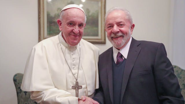 Lula and pope discuss social inequali...