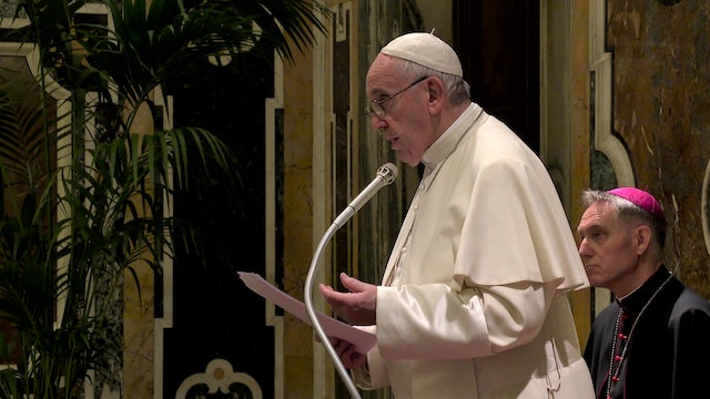 Pope: trading in the body or one of its parts is contrary to human dignity