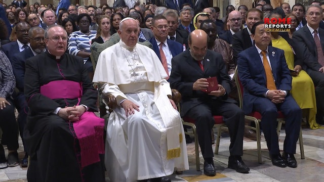 Pope to FAO: the tragedy of hunger is caused by the lack of compassion
