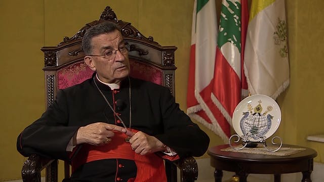 Maronite Patriarch, Cardinal Béchara ...