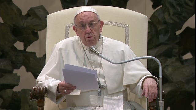Pope in Audience: It's better to be a...