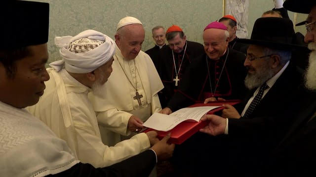 Jewish, Muslim, Christian representat...