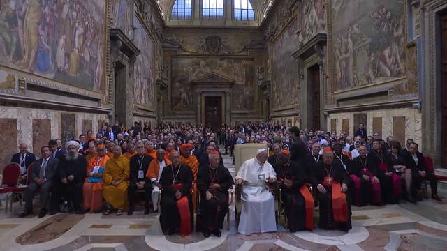 Pope ask to respect Indigenous people...