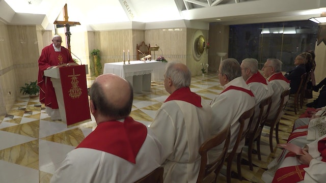 "Pope in Santa Marta: Announcing Christ is not a ""marketing campaign"""