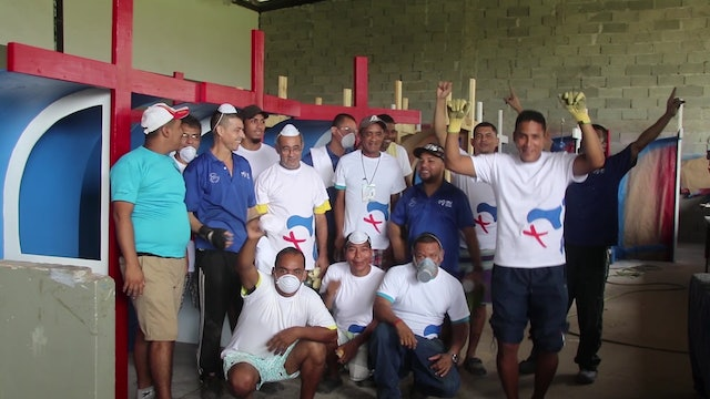 Panamanian prisoners build confessionals for WYD