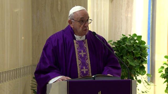 Pope in Santa Marta: complaining allo...