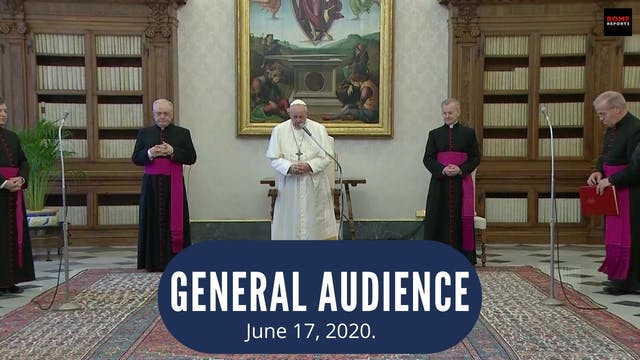 Pope at the Audience recalls Portugue...