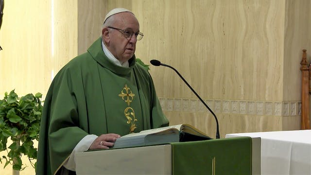 Pope in Santa Marta: Life is for givi...