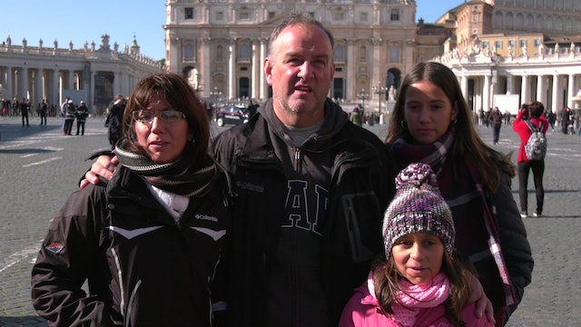 Argentine family travels to Rome and ends up meeting the pope