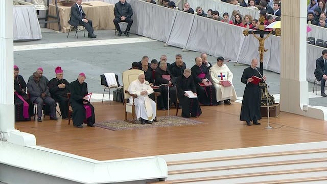 Pope in General Audience: Jesus comes...