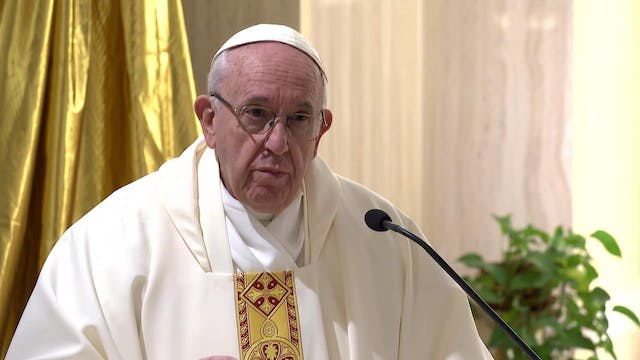 Pope in Santa Marta: Only faith will ...