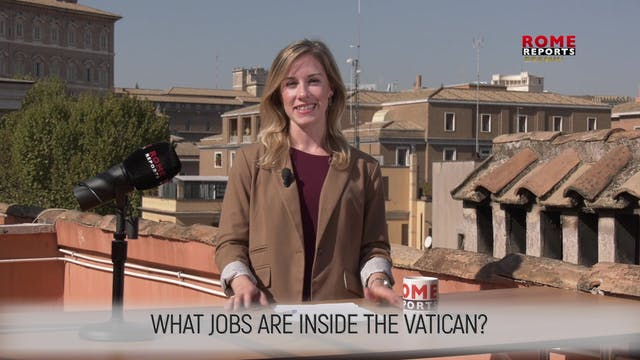 WHAT JOBS ARE INSIDE THE VATICAN?