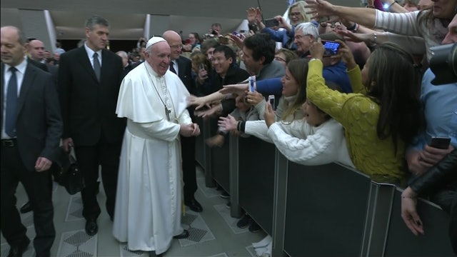 Pope Francis: There is no covering up before God. He knows who we truly are