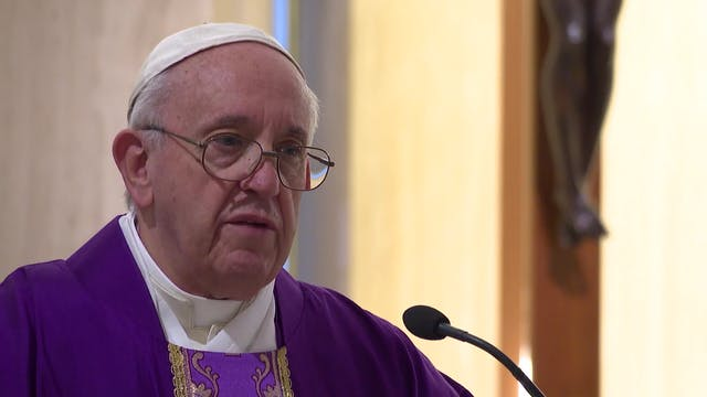 Pope in Santa Marta: This Lent rememb...