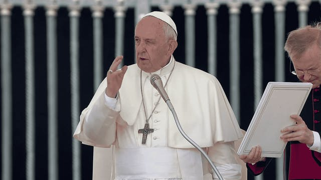Pope in General Audience: Christians ...