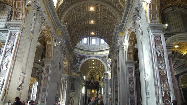 St. Peter's Basilica has prevention measures to avoid incidents like Notre Dame