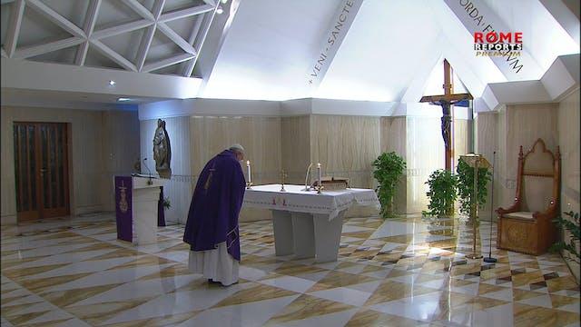Pope at Santa Marta: Jesus did not pr...