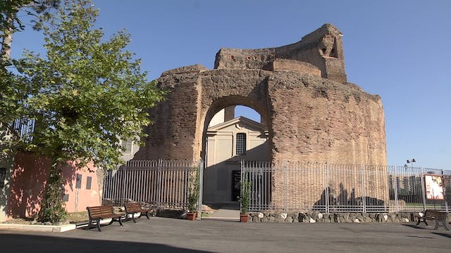 Catacombs reopen old mausoleum of St....