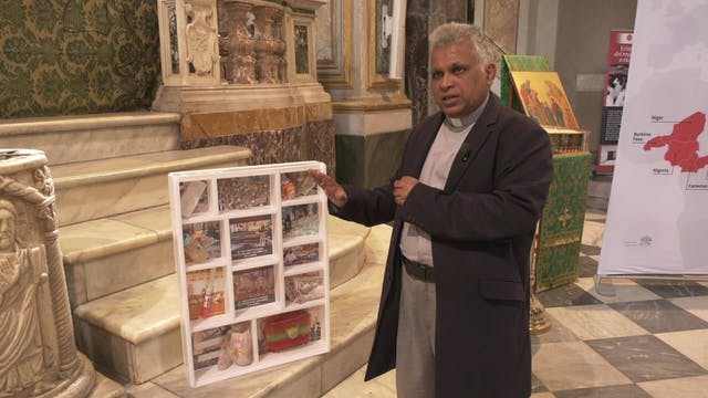 Relics in Rome remember Christians ki...