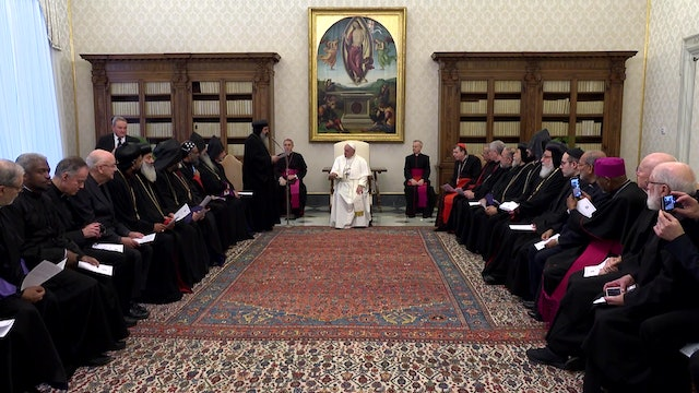 Pope: That Christians in the Middle East be recognized as full citizens
