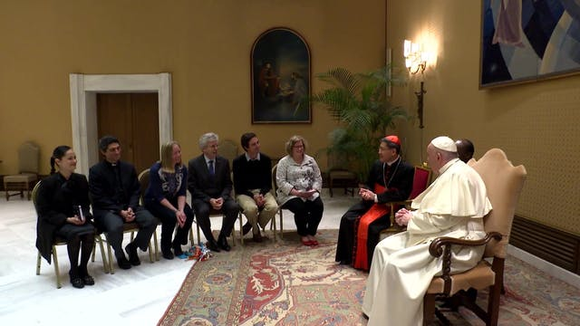 Augusto Zampini explains how pope's c...
