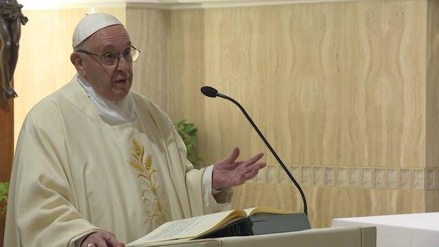 Pope in Santa Marta: the 'disease of ...