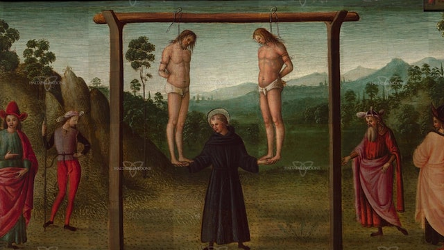"""High-definition image of Raphael's """"Miracle of the Two Hanged Men"""" online"""