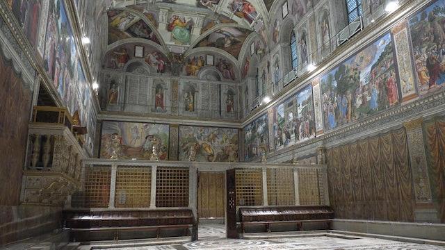 Secrets behind Michelangelo's paintings in the Sistine Chapel