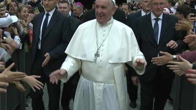 Pope Francis among the 20 most-admire...