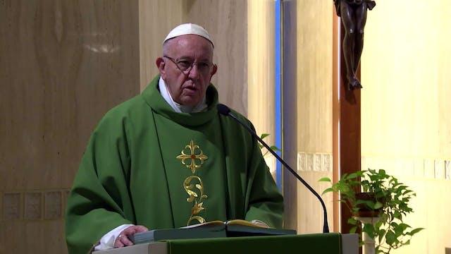 Pope in Santa Marta: How often do gir...