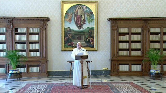 Pope Francis gives two remedies to co...