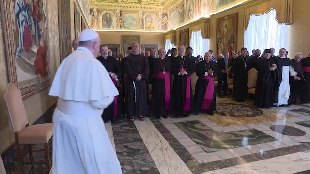 June 2019: Pope Francis gathers all n...