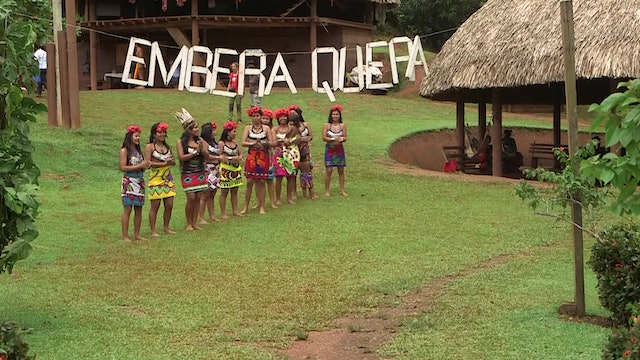 Panama's Emberá Natives: Having a person like the pope defending us is great