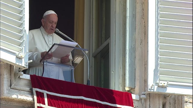 Pope Francis in the Angelus: Move awa...