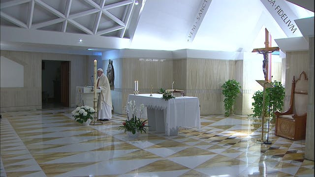 Pope in Santa Marta: Money, vanity an...