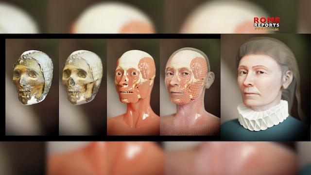 3D designer uncovers face of ancient saint