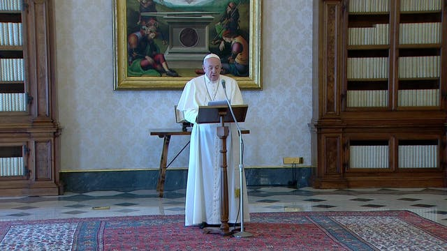 Pope asks guaranteed access for all f...