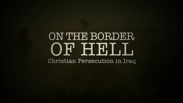 On the border of hell, Christian pers...