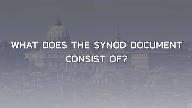 Seven keys to the Synod's Final Document